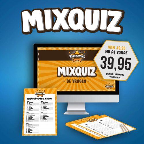 Kwizzy.nl, bestel een gezellige Mixquiz